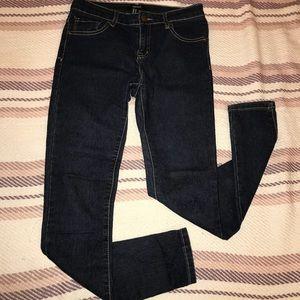 Forever 21 dark denim jeans size 26!